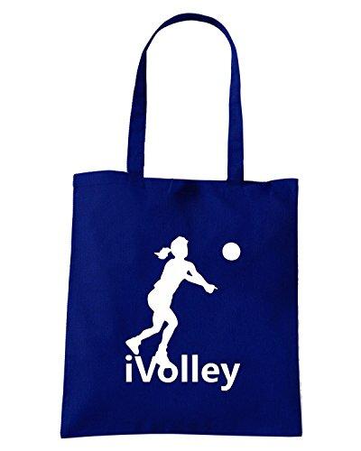 T-Shirtshock - Borsa Shopping OLDENG00335 i volley Blu Navy