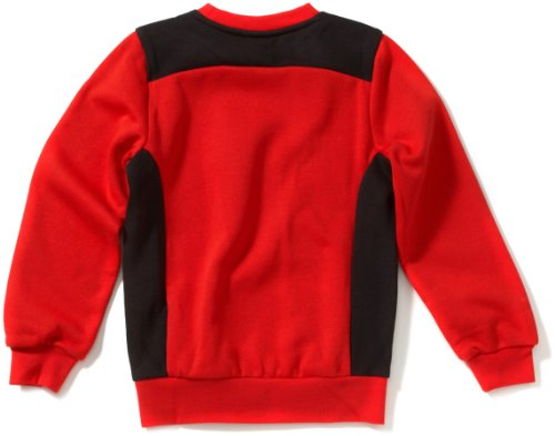 PUMA Kinder Sweatshirt Foundation Sweat Puma Red/black
