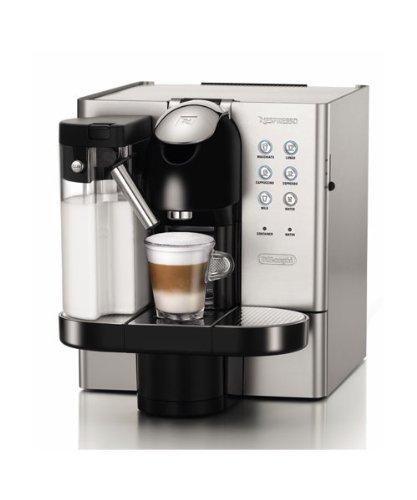 Delonghi Latissima Premium - Cafetera nespresso de metal, automática, con dispensador de leche, 19 bares