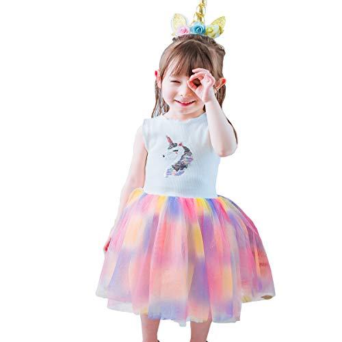 n Prinzessin Kostüm Kleid Weiches Geburtstag Halloween Cosplay Festzug Karneval Tüll Tutu Dress Up ()