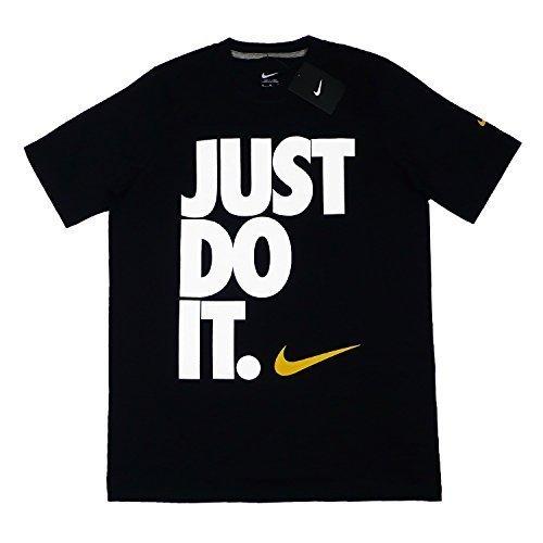 Nike Mens Just Do It Black T-shirt