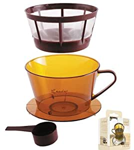 Kitchen Craft Le'Xpress Coffee Filter & Measuring Spoon- boxed