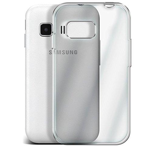 Samsung Galaxy S5 Neo hülle Tasche (Grün + Kopfhörer) Slim-Fit-Abdeckung für Samsung-Galaxie-S5 Neo-hülle Tasche Haltbarer S Linie Wellen-Gel-Kasten-Haut-Abdeckung + mit Aluminium Earbud Kopfhörer, Po Clear case + glass