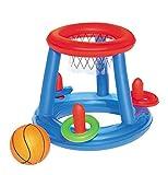 Basketball - im Wasser - Baketballspiel - ca. 61 cm -Das sorgt für jede Menge Spaß und Abkühlung von obenan den heißen Sommer Tagen!