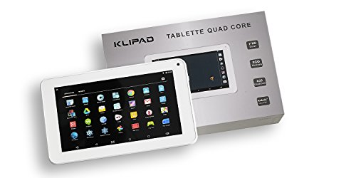 Tablette Tactile KLIPAD WHITE 7 POUCES HD Android 5.1 / 8 Go