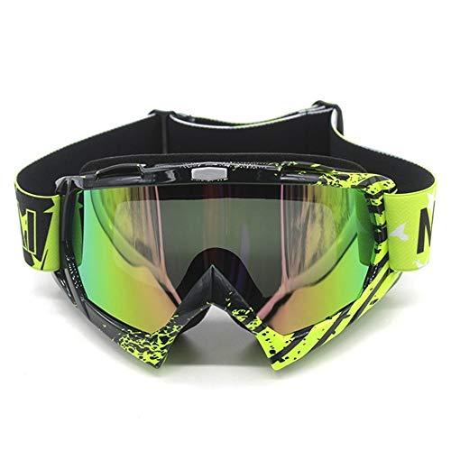 PZXY Lunettes de Ski Lunettes de Moto de Motard en Plein air Vélo Lunettes de Ski Lunettes de Ski Coupe-Vent