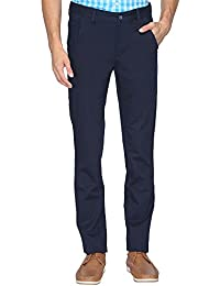 STOP To Start By Shoppers Stop Mens Solid Basic Chinos