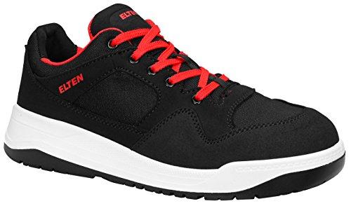 ELTEN Sicherheitsschuhe MAVERICK black Low ESD S3, Herren, sportlich, Sneaker, leicht, schwarz, Stahlkappe