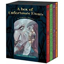 """A Series of Unfortunate Events: """"The Bad Beginning"""", """"The Reptile Room"""", """"The Wide Window"""", """"The Miserable Mill"""""""