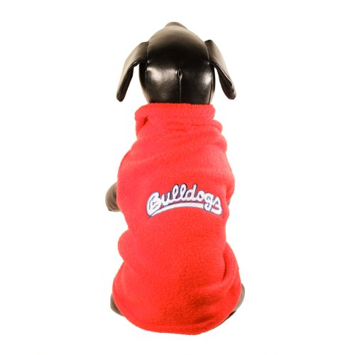 NCAA Fresno State Bulldogs ärmellos Polar Fleece Hund Sweatshirt, X-Large Bulldogs Fleece-sweatshirt
