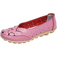 QinMM Mocasines Y Merceditas para Mujer Zapatillas Respirable Sandalias Zapatos Verano Alpargatas Zapatos