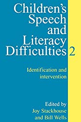 Children's Speech and Literacy Difficulties:Book 2: Identification and Intervention Bk. 2
