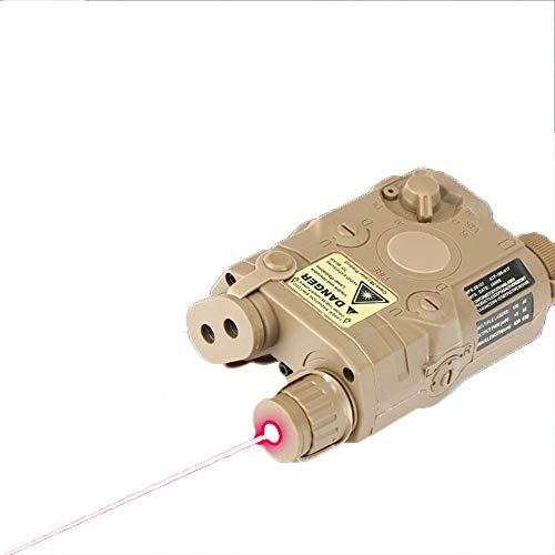 HANYUEXIA PEQ-15 Kunststoff-Batteriekasten 20 mm Breitschienen-Zubehör - Lithium-Batterie-Version mit Sonderfunktion