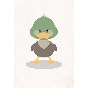 Postkarte Dreamchen Kinderzimmer Deko Ente