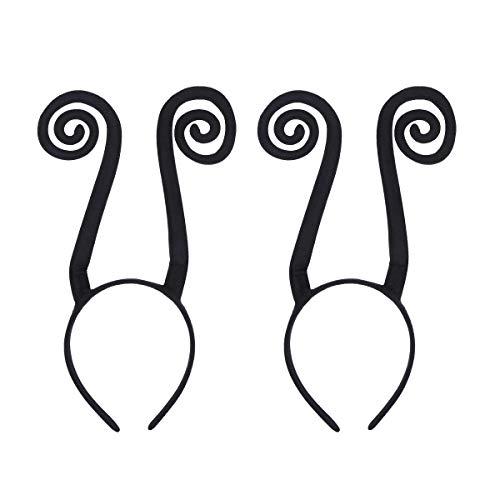Amosfun 2 stücke Ant Antenne Stirnband Haarband Kostüm Zubehör für Halloween Festivals Kostüm Party Cosplay Bühnenauftritt, Freunde
