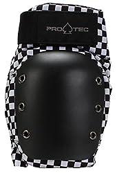 Pro tec Pads Street Knee Protektoren, Unisex Erwachsene M Checker
