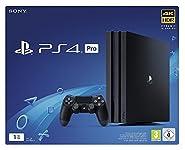 """Sony Entertainment PS4 Pro 1TB B Chassis BlackSony Entertainment Cons. 9936763 Ps4 PRO Bk 1TB BSpecifiche:PiattaformaPlayStation®4 ProTipo di Drive OtticoBD × 6 CAV - DVD × 8 CAVProcessore IntegratoCPU: x86-64 AMD """"Jaguar"""", 8 coresProcessore ..."""