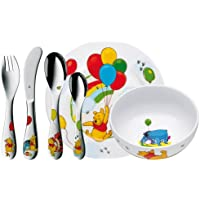 WMF bambini-set 6 teilig Winnie the Pooh Cromargan acciaio INOX inossidabile 18/10 lucido 3 anni a partire da