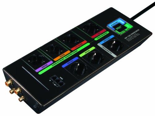 Monster HDP 750g Green Power Multiprise (Parasurtenseur, Assurance, Master Slave, technologie de filtration Appareils)