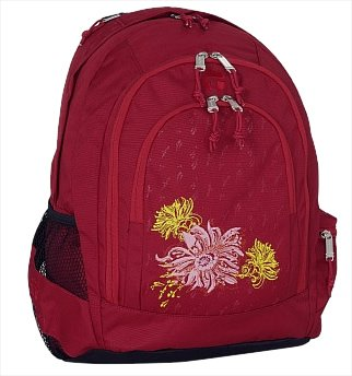 Take It Easy Indian Summer Schulrucksack BERLIN Rot