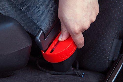 Wididi Autositz-Schnallenschutz für die Sicherheit von Babys und Kleinkindern - Verschlussclip für die meisten Automodelle - einfach zu installierender Kunststoff-Gurtschutz - Ultimative Sicherheit (Ersatz-stuhl-teile)
