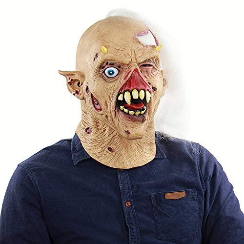 ke Zombie Skeleton Latex Geist Spukhaus Dressing Kopfbedeckungen ()