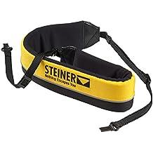 Steiner Float ClicLoc - Correa para prismáticos Navigator 7x50 (Flotante, sistema de enganche ClicLoc, neopreno), amarillo