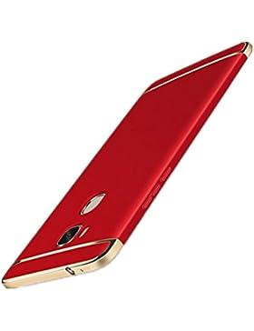 Funda Huawei Honor 5X Protectora 3-en-1 PC Enchapado Ultra Delgado Choque Absorción Anti-Arañazos Case Carcasa...