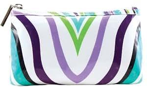 Modella Ultimate Stripe Cosmetic Purse