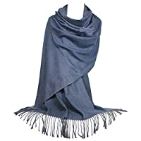 GFM Soft Smooth Cashmere Feel Pashmina Style Wrap Scarf For Autumn & Winter (S1-1601-FLD-JNSNL)
