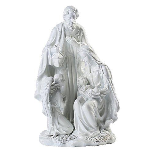 Giftgarden-Estatua de la Familia Sagrada.La Decoración Religiosa Artesanal de Resina sintética.José,María.