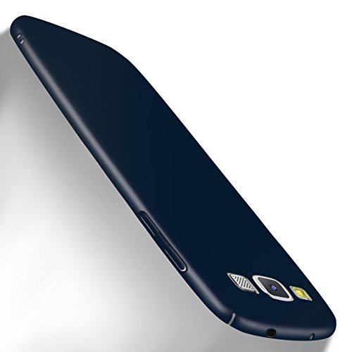 MoEx Samsung Galaxy S3 Hülle Blau OneFlow Alpha Back-Cover TPU Schutzhülle Dünn Handyhülle für Samsung Galaxy S3/S III Neo Case Ultra-Slim Thin Skin Handy Schutz Rückseite