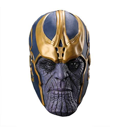 Yacn - Guantes - para hombre Azul mask Large