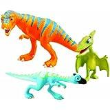 Dinotren - Pack de 3 personajes: Boris, Oren, Sra. P (TOMY LC53051MP)