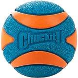 Chuckit! 52070 Ultra Squeaker Ball, 1 Pelota para Perros Compatible con el Lanzador, S