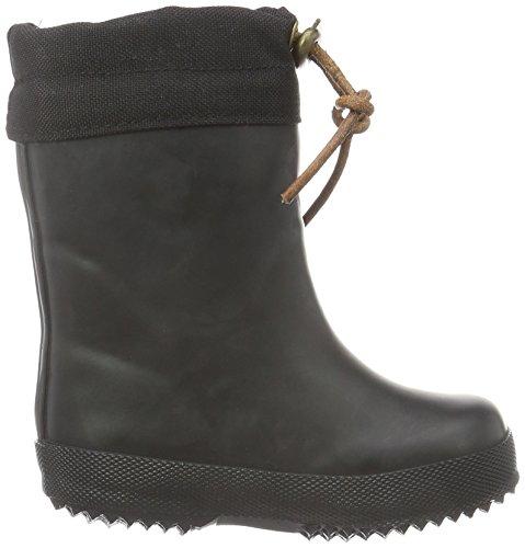 """Bisgaard Unisex-Kinder Rubber Boot """"Winter Thermo"""" Gummistiefel Schwarz (50 Black)"""