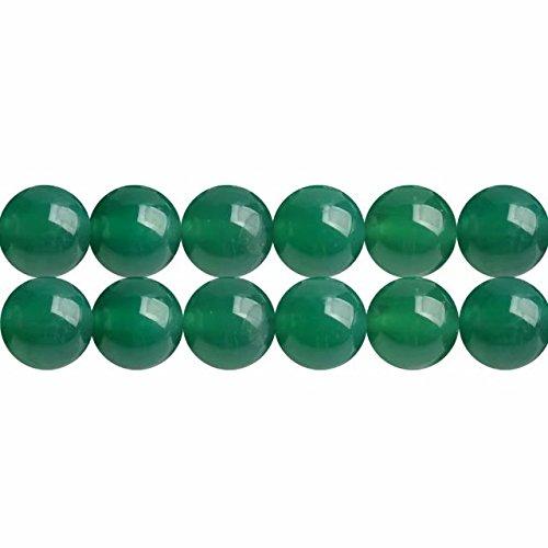 hat 4mm Edelstein Lose Perlen für Schmuckherstellung 38cm Strang Approx 90 Stück ()