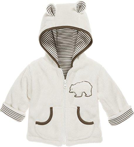 Schnizler Kinder-Jacke aus Fleece, atmungsaktives und hochwertiges Jäckchen mit Reißverschluss, mit Bär-Stickung