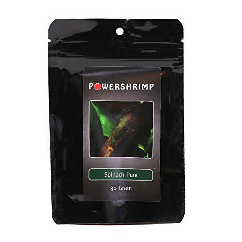 Powershrimp Spinach Pure Spinatfuttersticks Zusatzfutter für Garnelen zu Unterstützung der Verdauung 30g -