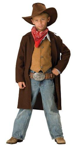 Cowboy Deluxe Childs Kostüm - Generique - Cowboy Kostüm für Kinder - Deluxe