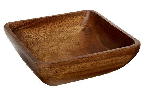 Premier Housewares 1104558 - Cuenco Cuadrado Madera