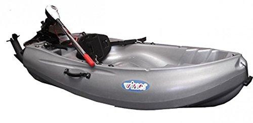 Winner Motorbooty Sit On Top, Farbe:Grau;Ausstattung:Ohne Motor