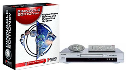 Pinnacle Edition DV4.5 Competitive Upgrade, inc. Commotion & Impression DVD-Pro & FREE Samsung S224 DVD Player - Dv-system