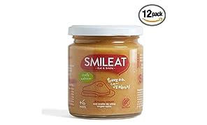 Smileat Potito de Ternera con verduras - 230 gr - [Pack de 12]