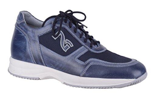 Nero Giardini , Baskets pour homme Bleu bleu 45 Bleu