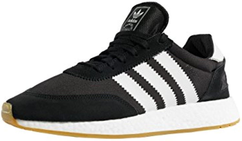 adidas Herren I 5923 Schwarz Mesh/Wildleder Sneaker 38