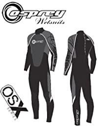 "(Osprey) Mens OSX Full Wetsuit Chest 36.5"" 174-180cm (Grey)"