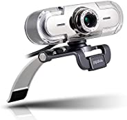 PAPALOOK Webcam 1080P Full HD PC Skype Camera, PA452 Web Cam with Microphone, Video Calling and Recording for