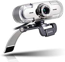 papalook PA452 Webcam HD 1080P, Multicolore Moderna Camera con Microfono Integrato Definizione Alta USB 2.0 Compatibile...
