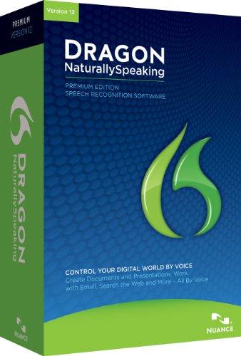Dragon NaturallySpeaking Premium 12.0, Englisch